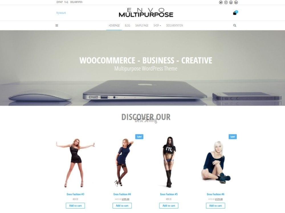 Free Envo Multipurpose Wordpress theme