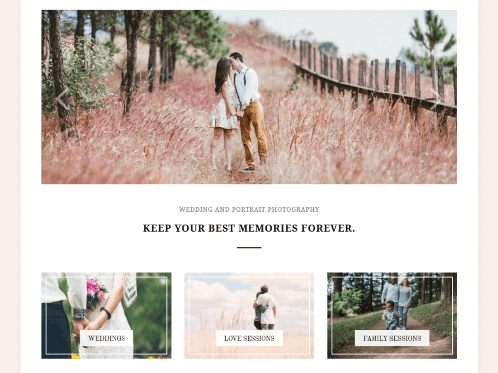 Free Photozoom Wordpress theme