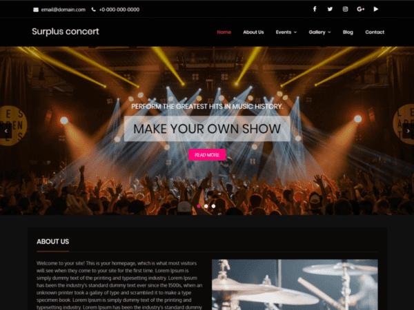 Surplus Concert