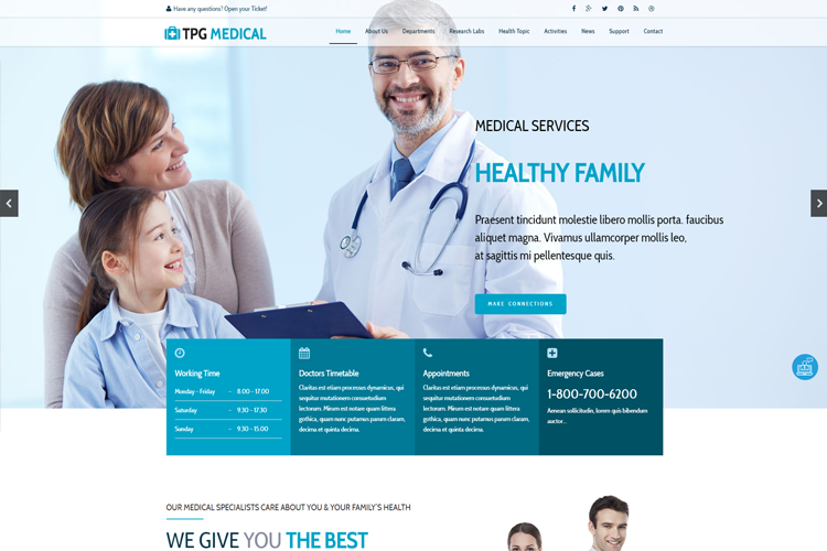 tpg-medical-wordpress-theme-screenshot