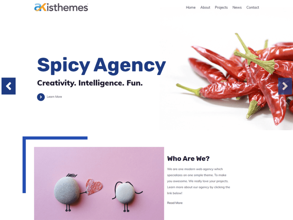 Free Atlast Agency Wordpress theme
