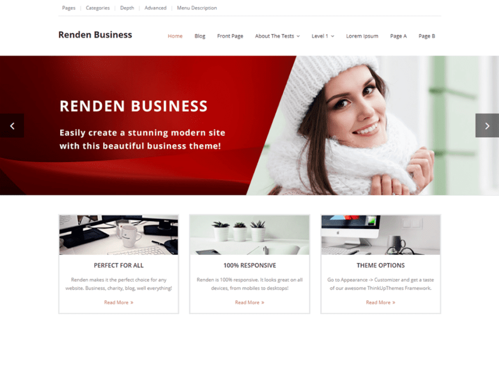 Download free renden business wordpress theme justfreewpthemes free renden business wordpress theme friedricerecipe Image collections
