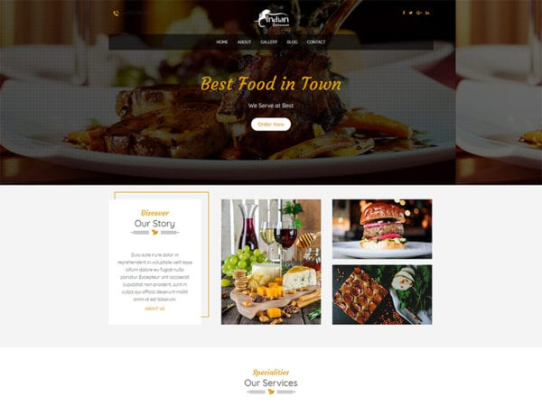 free restaura wordpress theme