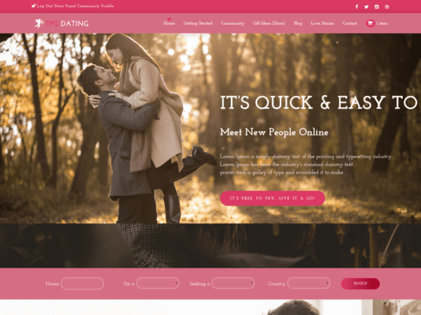 tpg-dating-free-responsive-wordpess-theme-screenshot