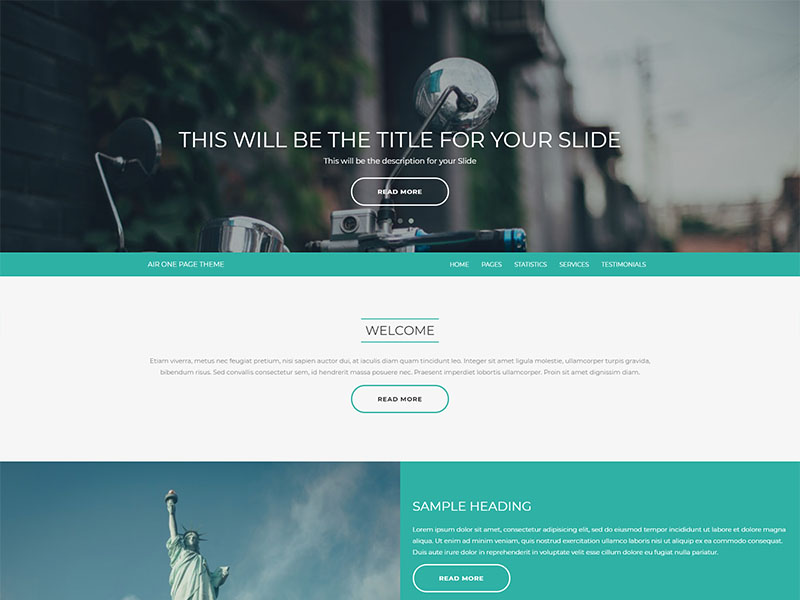 free air wordpress theme