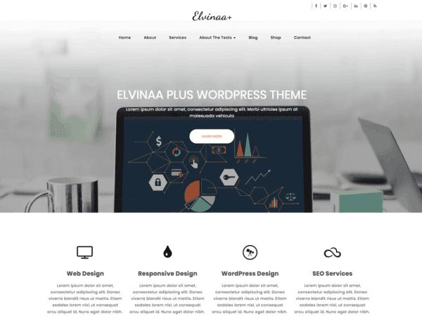Free Elvinaa Plus Wordpress theme