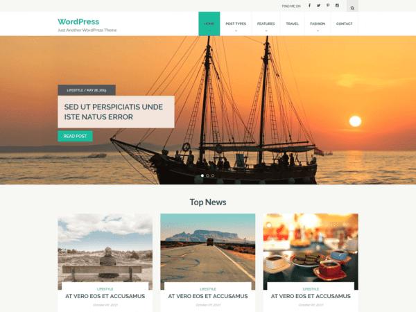 Free Halcyon WordPress theme