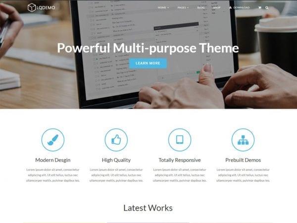 Free Lucia Wordpress theme
