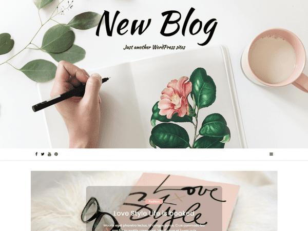Free New Blog Wordpress theme