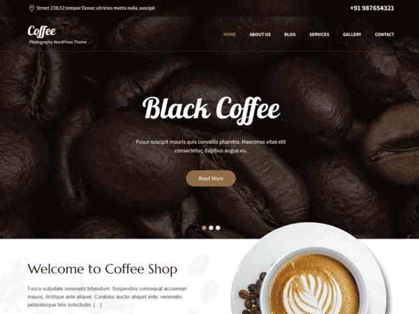 Free SKT Cafe WordPress Theme