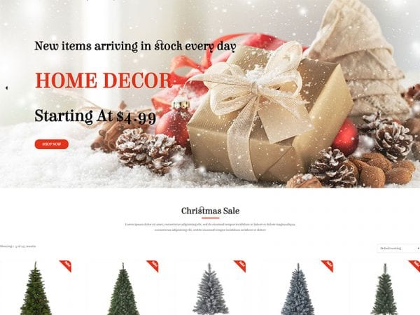 free ws christmas wordpress theme