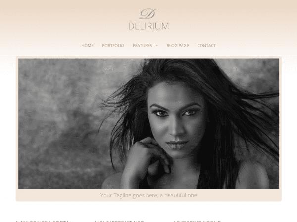 Free Delirium Lite WordPress theme