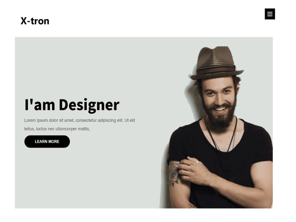 Free Xtron WordPress theme