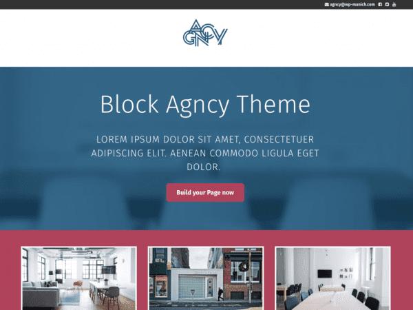 Free Agncy WordPress theme