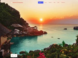 Free Elemento Photography WordPress theme