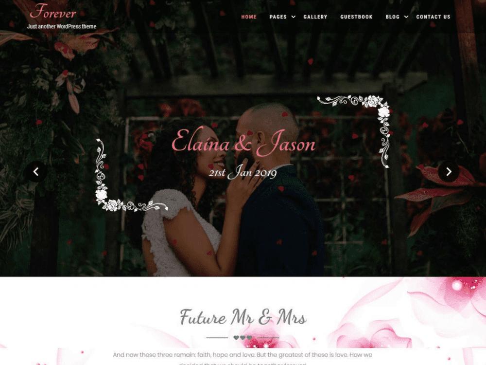 Free Forever Lite WordPress theme