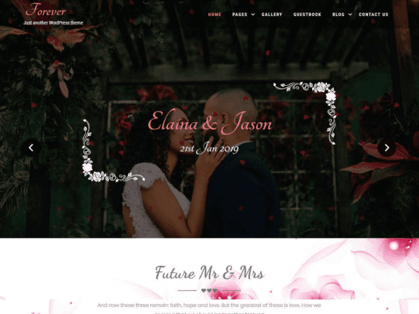 Free Forever Lite WordPress theme