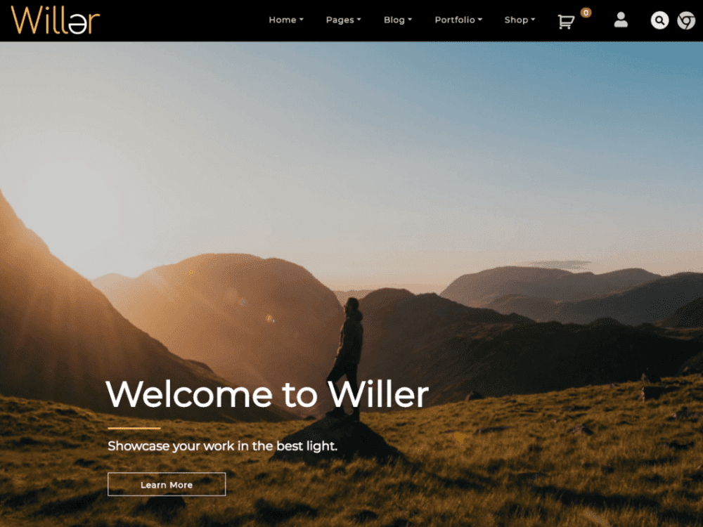 Free Willer WordPress theme