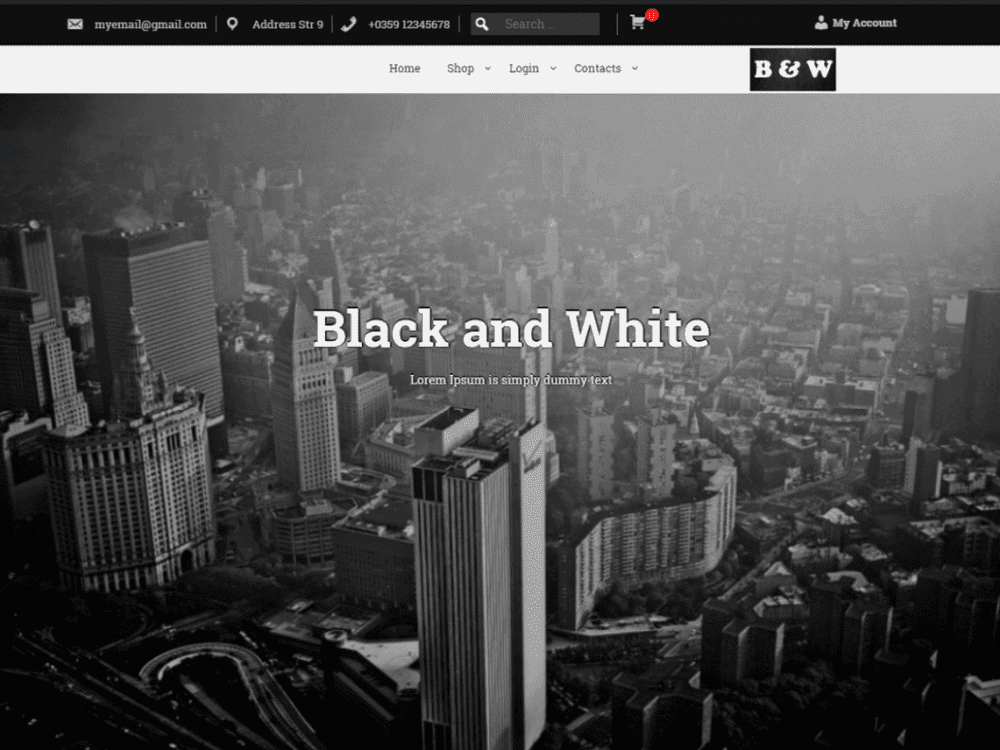Free BAW WordPress theme