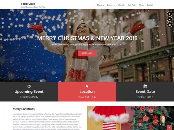 Free Chrimbo WordPress theme