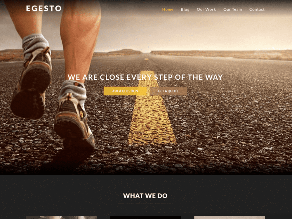 Free Egesto Lite WordPress theme