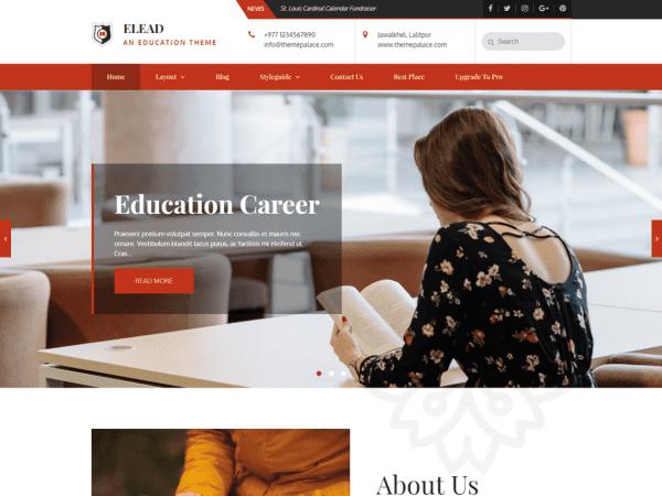 Free Elead WordPress theme
