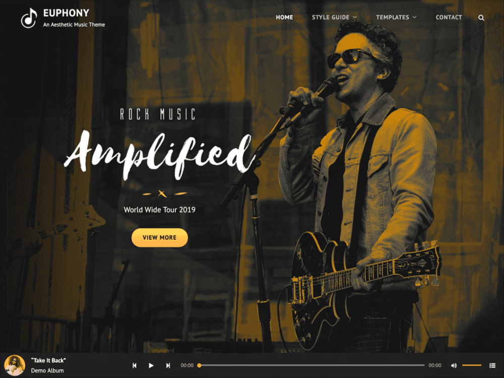 Free Euphony WordPress theme