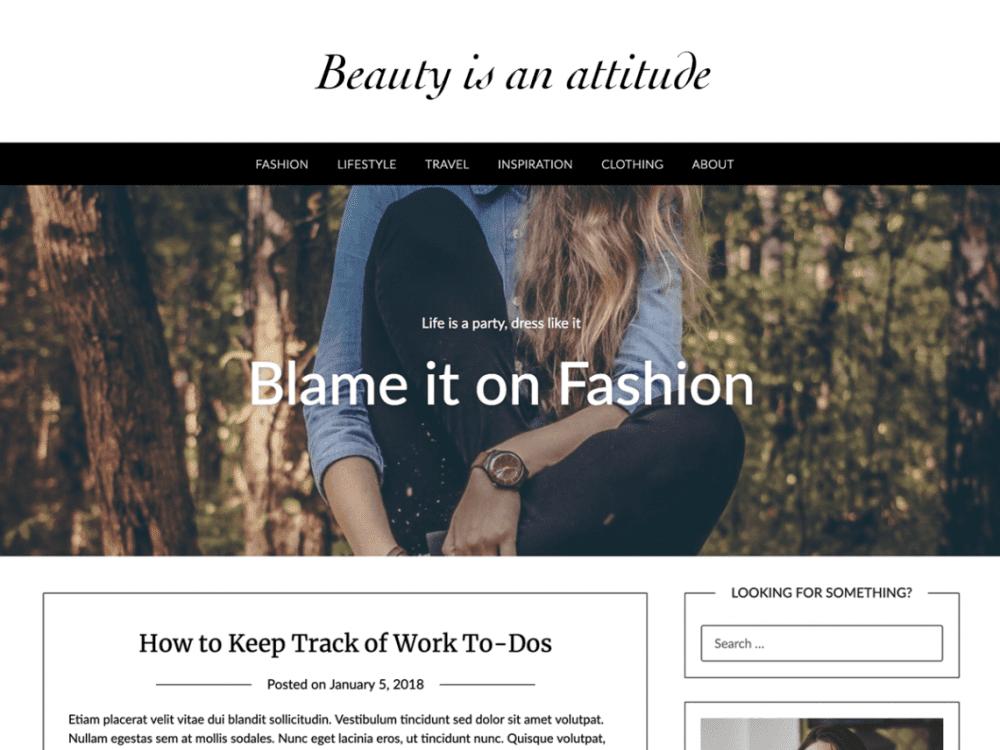 Free Fashionpressly WordPress theme