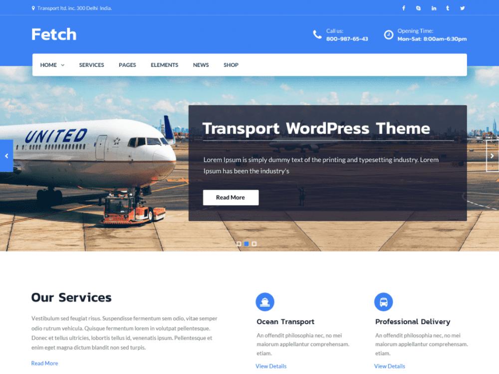 Free Fetch WordPress themen