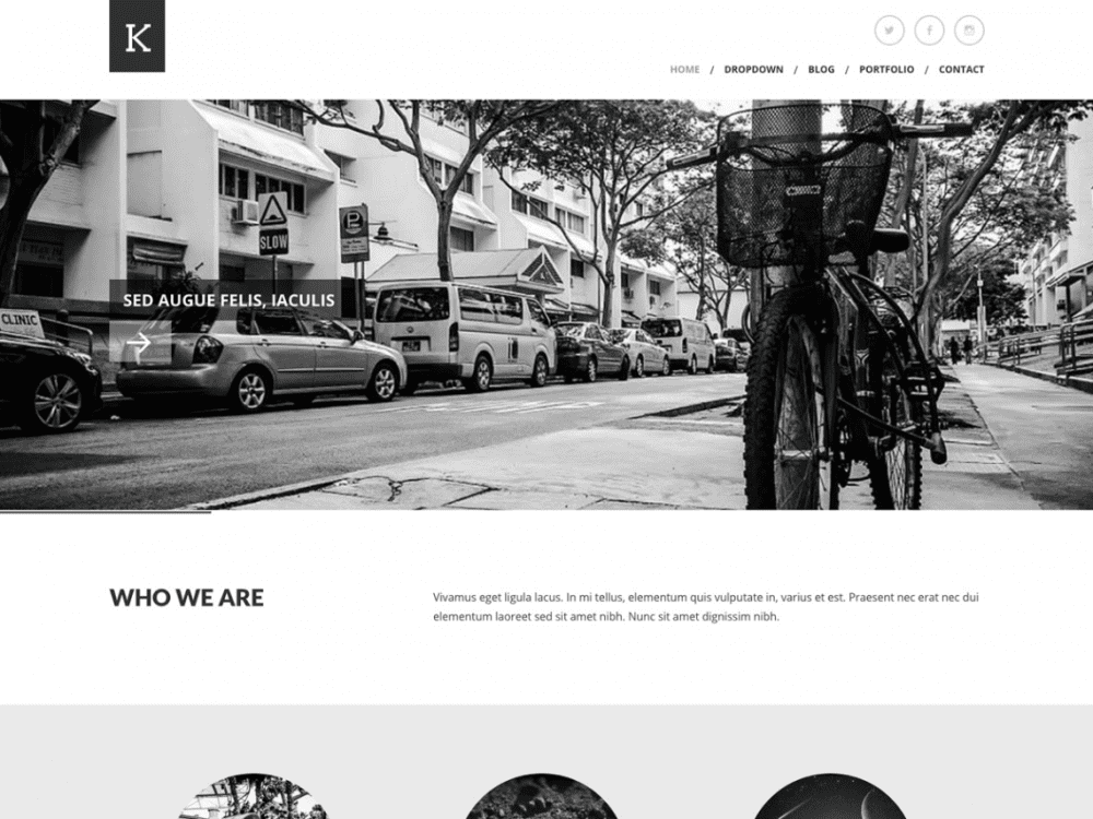 Free Kimbo Lite WordPress theme