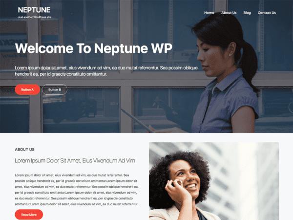 Free Neptune WP WordPress theme