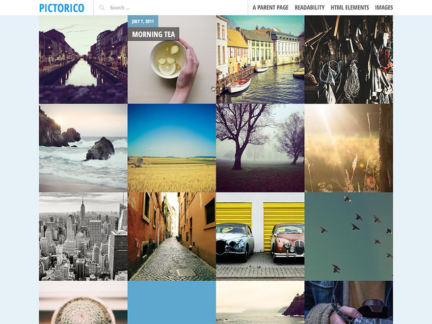 Free Pictorico WordPress theme