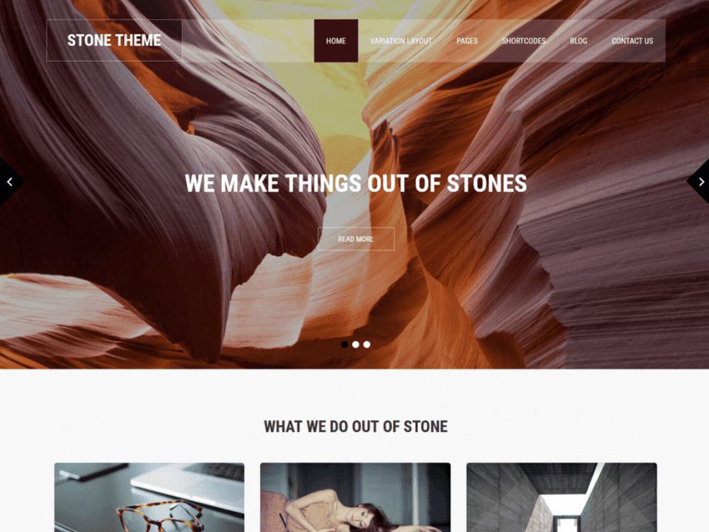 Free SKT Stone Lite WordPress theme