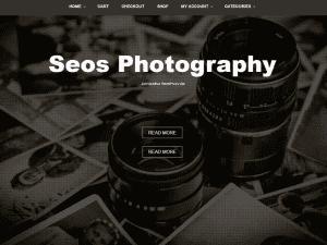 Free Seos Photography WordPress theme
