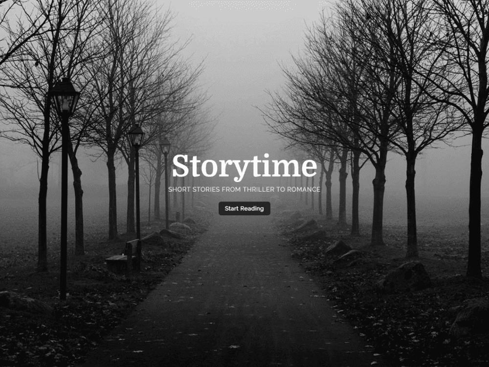 Free Storytime Wordpress theme