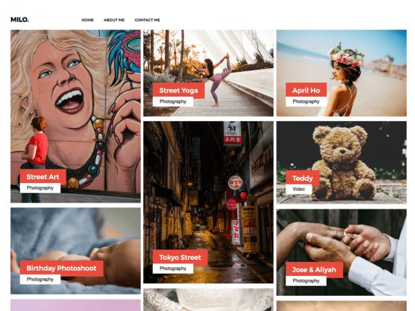 Free Millo WordPress theme