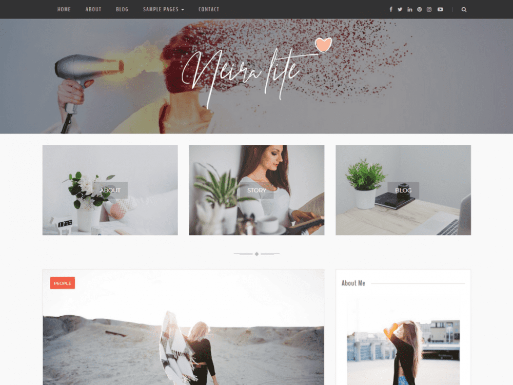 Free Neira Lite WordPress theme