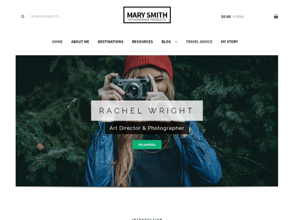 Free Pep Brand WordPress theme