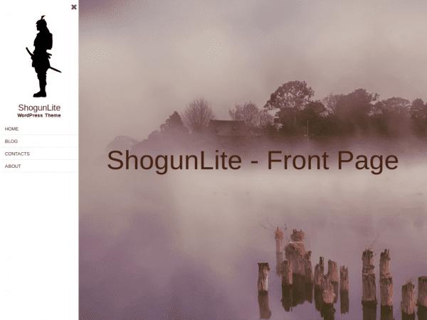 Free ShogunLite WordPress theme