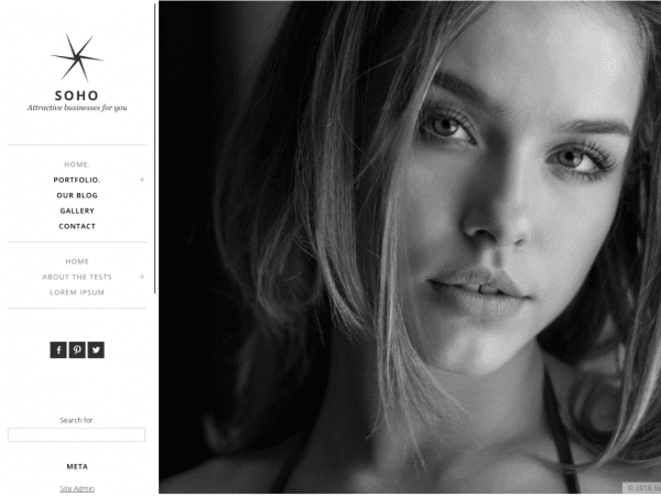 Free Soho Lite WordPress theme