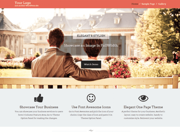 Free Start Point WordPress theme