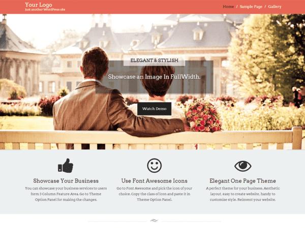 Free Start Point WordPress theme