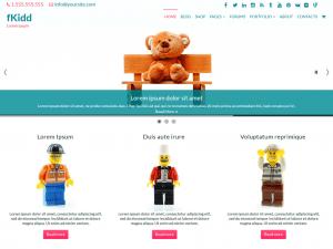 Free fKidd WordPress theme