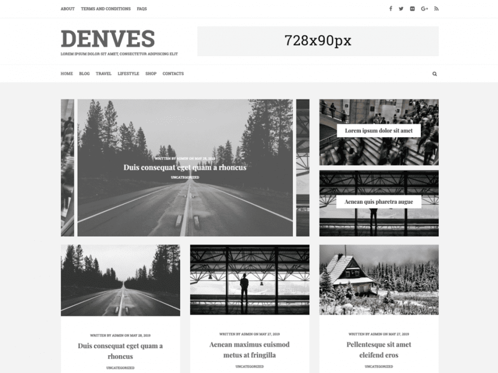Free Denves Lite WordPress theme