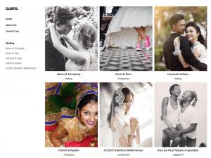 Free Gusto Photography WordPress theme