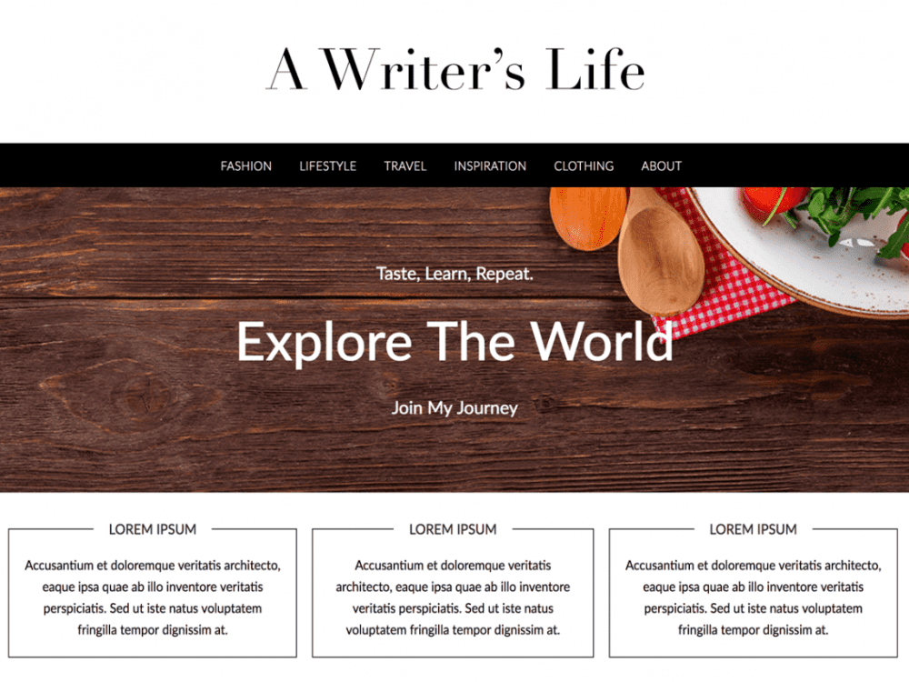 Free Lifestylepress WordPres theme