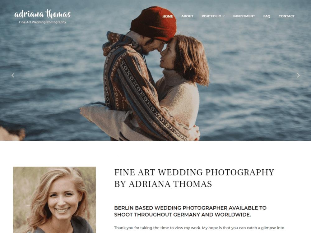 Free PhotoFrame WordPress theme