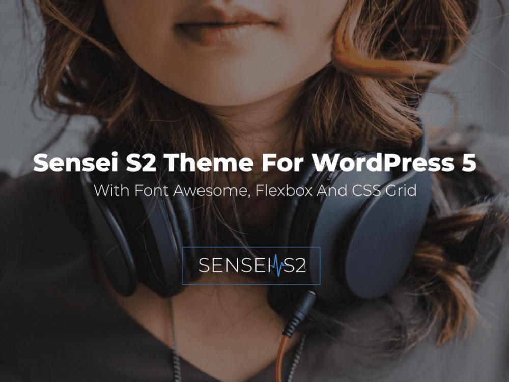 Free Sensei S2 WordPress theme