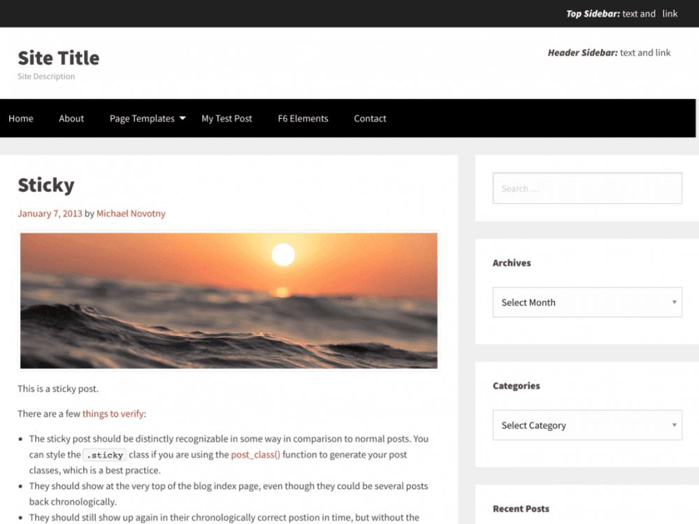 Free TotalPress WordPress theme