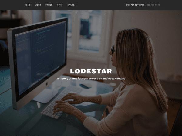 Free Lodestar WordPress theme